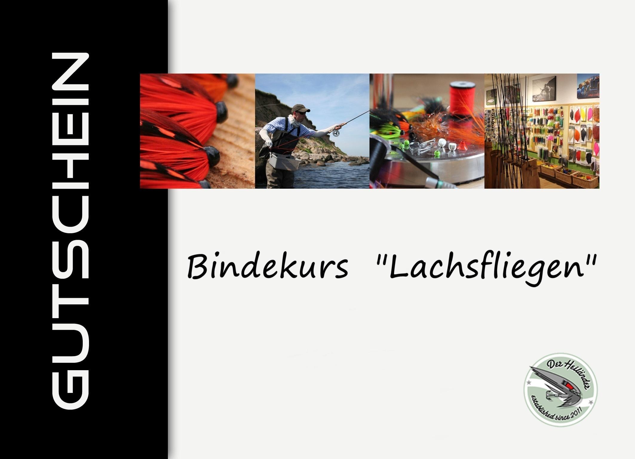 Bindekurs Gutscheine Lachsfliegen - Der Heiländer